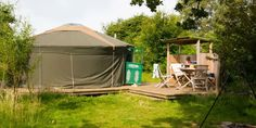 Freshwinds Camping Holidays. Multiple yurts in East Sussex.