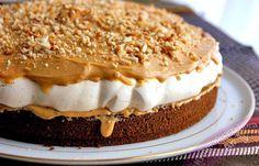Milujete snicker a nebo sladkosti a nebo máte megachuť na něco moc dobrého? Zkuste tenhle naprosto famózní dort s příchutí snickers sušenky, který si zamiluje celá vaše rodina bez vyjímky! Těsto: ksvejce 6 lžic vody 6 lžickr. cukr 6 lžic polohrubá mouka 1/2 bal.prášek do pečiva 3 lžíce
