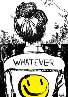 by Amanda lanzone: whatever Art! Drawing Sketches, Art Drawings, Illustration Art, Illustrations, People Illustration, Art World, Amazing Art, Art Quotes, Cool Art
