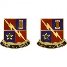 U.S. Army Special Troops Battalion, 1st Brigade Combat Team, 1st Armored Division Unit Crest (Simul Militamus)