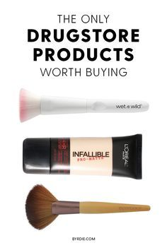 These are the only drugstore beauty products worth buying.