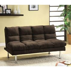 Save more and buy online! The new Furniture of America Saratoga Sofa Futon provides a comfortable seat and beautiful style.Las Vegas Furniture Online | LasVegasFurnitureOnline | Lasvegasfurnitureonline.com