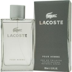 lacoste pour homme edt spray 3.4 oz by lacoste
