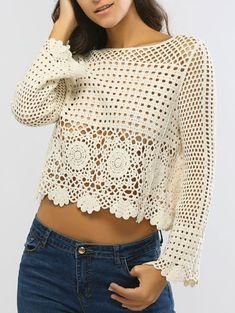 Captivating Crochet a Bodycon Dress Top Ideas. Dazzling Crochet a Bodycon Dress Top Ideas. Pull Crochet, Crochet Shirt, Crochet Poncho, Crochet Lace, Crochet Stitches, Crochet Patterns, Crochet Summer, Knitting Patterns, Vest Pattern