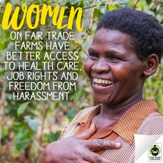 Today is #InternationalWomensDay! Imagine how many women's lives we could impact if everyone chose #FairTrade. Repin to help us raise awareness about this important issue! http://bit.ly/Z3QQ61 ‪#‎IWD2016‬ #women #womenempowerment