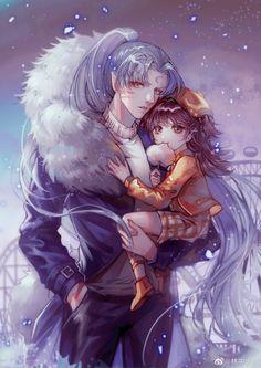 Fanarts Anime, Manga Anime, Seshomaru Y Rin, Inuyasha And Sesshomaru, Eren X Mikasa, Cute Gif, Shoujo, Anime Couples, Attack On Titan