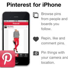 Pinterest for iPhone!