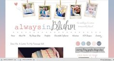 personal blog design?  Idea- photo frame collage!