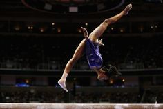 Olympic Gymnastics Gabrielle Douglas... love it even though her foot is flexed