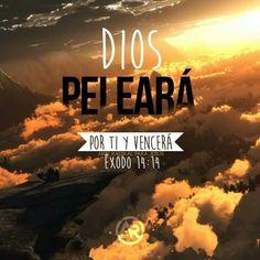 """""""Y temerán desde el occidente el nombre de Jehová, y desde el nacimiento del sol su gloria; porque vendrá el enemigo como río, mas el Espíritu de Jehová levantará bandera contra él. Y él dijo: Mi presencia irá contigo, y te daré descanso."""" Isaías 59:19. Éxodo 33:14."""