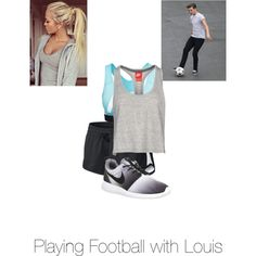Untitled #48 by kaylee-schroeder on Polyvore featuring polyvore, fashion, style and NIKE