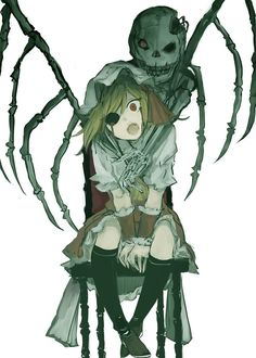 Anime Devil, Horror Themes, Dark Anime, Character Design References, I Love Anime, Anime Art Girl, Yandere, Anime Manga, Cute Art