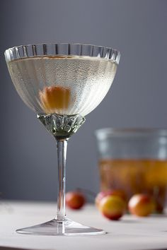 Cherry Brandy and Elderflower Cocktail