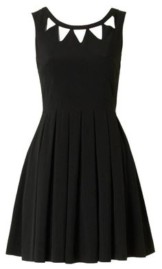 Echo Cut Out Dress Black