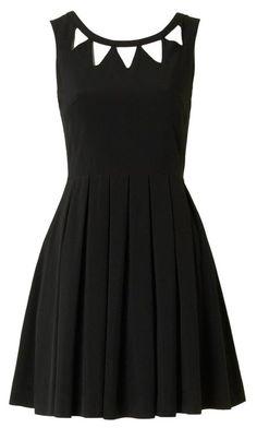 Echo Cut Out Dress Black