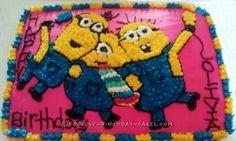 Cool Minions Birthday Cake... Coolest Birthday Cake Ideas