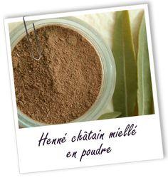 Coloration & Soin capillaire Henné châtain miellé Aroma-Zone