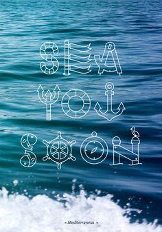 SEA YOU SOON by boumaka , via Behance