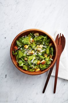Show-Off Caesar Salad - Canadian Living's 25 most popular recipes of all time