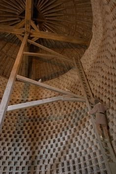 Inside the pigeon house