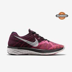 338617a2a78d The Nike Flyknit Lunar 3 Women s Running Shoe pairs plush cushioning with  an ultra-lightweight