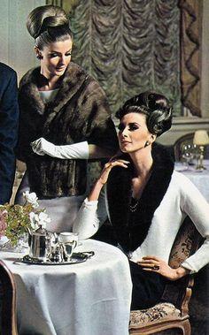 Angela Howard and Wilhelmina, 1960