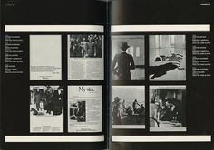 Felice Nava [Editor], Roberto Giussani [Designer] - 2dimensioni - Italian Graphic Design Journal with 36 pages devoted to the work of Gavino Sanna (1980)