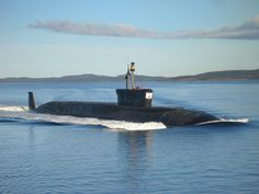"Submarino nuclear de mísseis balísticos (SSBN) Aleksandr Nevsky classe ""Borey"""