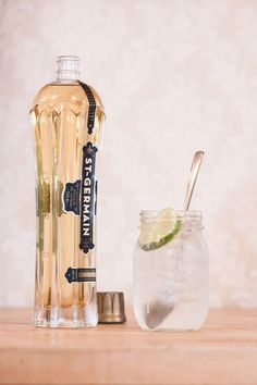 St. Germain Gin and Tonic via The Sweetest Occasion Photography by Alice G Patterson