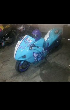 Charlotte Hornets Motorcycle