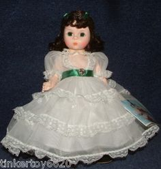 Scarlett Madame Alexander doll - I have this style, however, mine is taller and more mature looking.