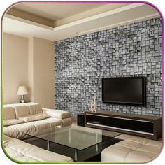 revestimento adesivo de parede decorativo - pedras tijolos