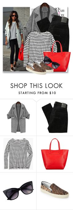 """""""Untitled #237"""" by sara-488 ❤ liked on Polyvore featuring Nobody Denim, J.Crew, John Lewis and Yves Saint Laurent"""