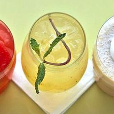 Mint Lemonade: