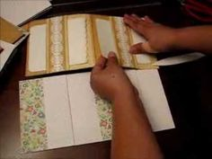 How to make 6x6 Pocket Pages - 10 Variations - YouTube