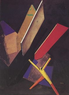 Mario Sironi (1885-1961) - The Bomb, 1925