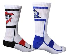 Step up your soccer game by kicking into a pair of Midfield crew socks from Bristol. #customsocks https://www.thegraphicedge.com/catalog/custom-socks