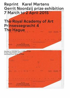 Reprint Karel MartensGerrit Noordij prize exhibition(via Grafik)