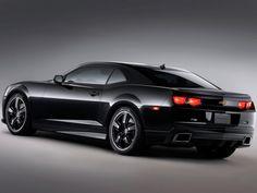 Image detail for -... Chevrolet Camaro Black Concept : 2008 Chevrolet Camaro Black Concept 4