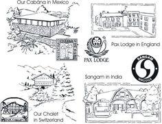 Four World Centres Fortune Teller...not my original idea