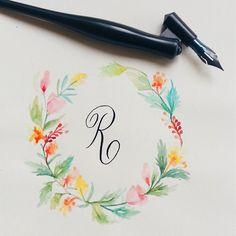 Rooooaaarrr :p #calligrafikas #dippen #nibs                                                                                                                                                     More