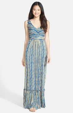 Plenty by Tracy Reese 'Marcia' Print Jersey Maxi Dress (Regular & Petite) available at #Nordstrom