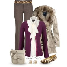 Work OOTD, created by sarahschuett on Polyvore