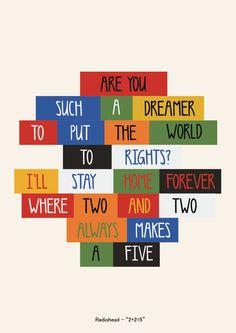 "Radiohead - ""2+2=5"" #terapiamusical"