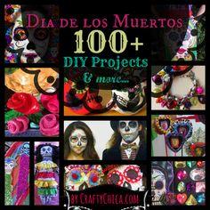 100 Dia de Los Muertos crafts