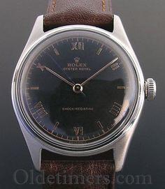 1940s-steel-vintage-Rolex-Oyster-watch