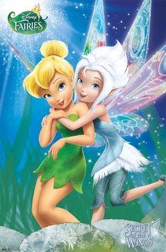 Disney Tinkerbell Hadas secreto de las alas Cartel 22x34 Nuevo Envío