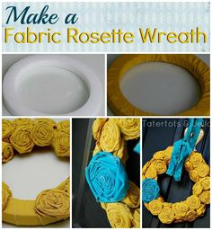 how-to-make-a-fabric-rosette-wreath-.jpg 921×1,000 pixels