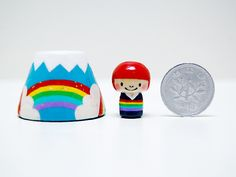 Fujisan Asahi Triple Rainbow Kokeshi[1]