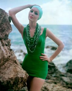 By Tom Palumbo, the shoots for Harper's Bazaar and Vogue in the 1950's and 60's.